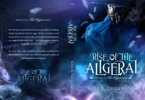 Rise of the Aligerai full paperback cover art